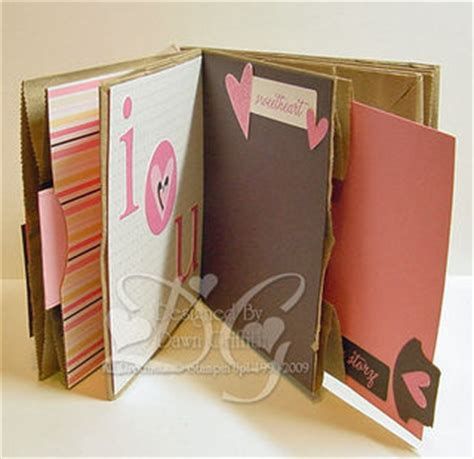 How To Make A Scrapbook Out Of Paper - paper bag scrapbook dawns sting thoughts stin up