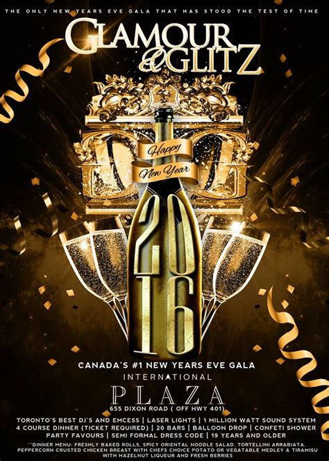 new year dinner toronto flyer