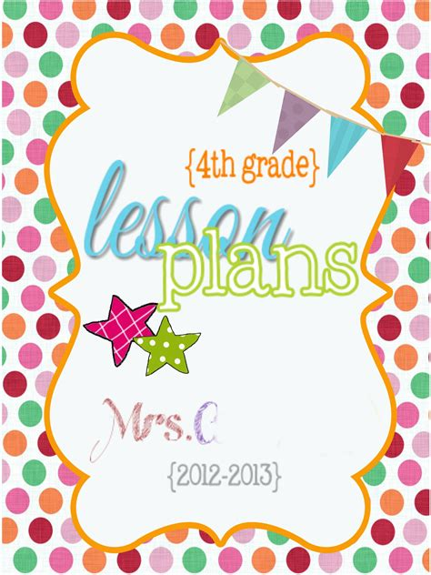 printable lesson plan binder cover search results for free printable lesson plan binder