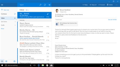 Office 365 Mail App Windows 10 Windows 10 Store Shortcoming Business Insider