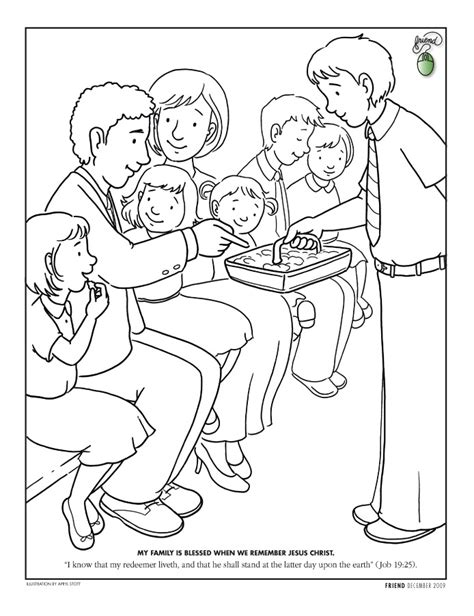 coloring pages lds coloring page friend