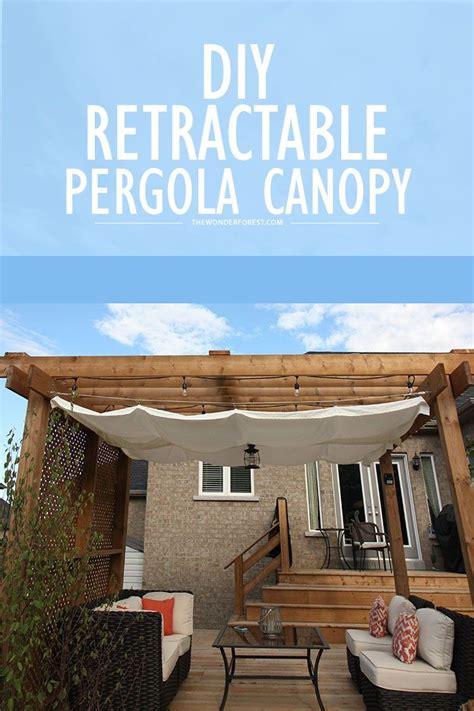 DIY: Retractable Pergola Canopy Tutorial   Tutorials