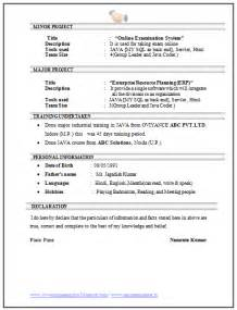 Resume format for it hardware networking
