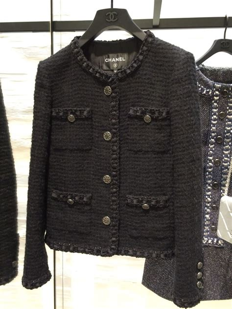 Chanel Style Black best 25 chanel jacket ideas on chanel style