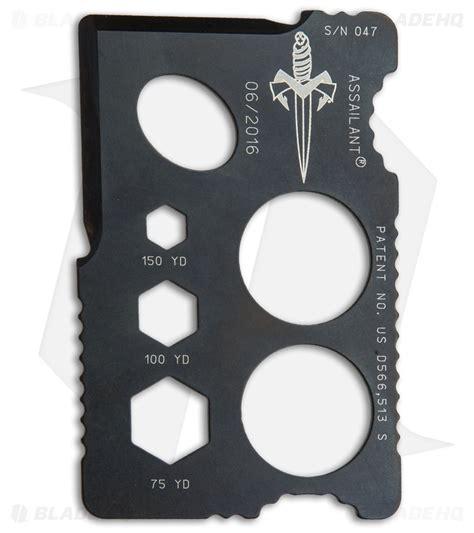 microtech assailant marfione custom assailant credit card knife black sw