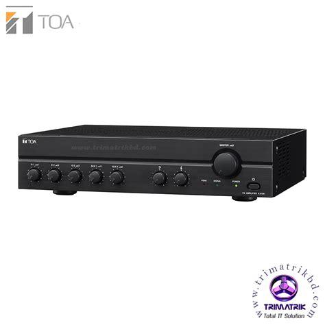 Mixer Power Lifier Toa A 2240 toa a 2240 mixer power lifier bangladesh trimatrik 01785777722