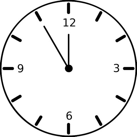 clock timer face  vector graphic  pixabay
