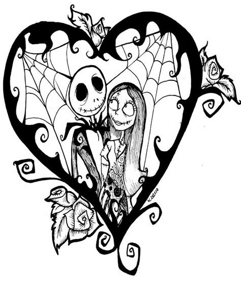 coloring pages the nightmare before christmas nightmare before christmas coloring page coloring home