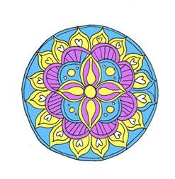 mandala colors how to draw a mandala with free coloring pages