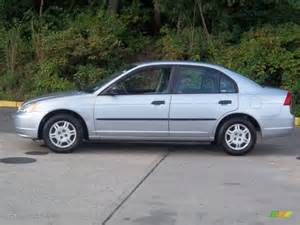 satin silver metallic 2002 honda civic dx sedan exterior