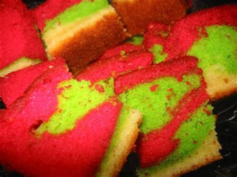 Gamis Marble Pelangi 9 kek pelangi resepi cake ideas and designs