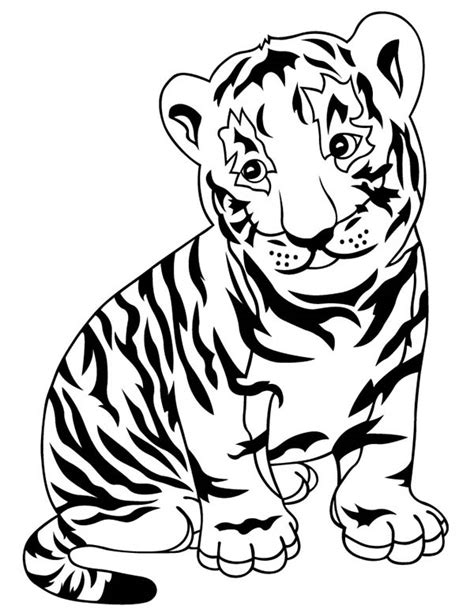 Tigers Coloring Pages Coloring Kids Tiger Coloring Book Pages