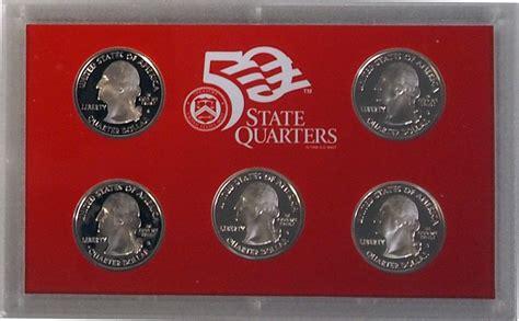 2004 silver proof quarter set 2004 silver quarter proof set 5 coin u s mint proof set