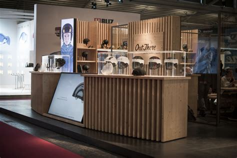 booth design retail carrera booth by soolid comunicazione arch masoni at