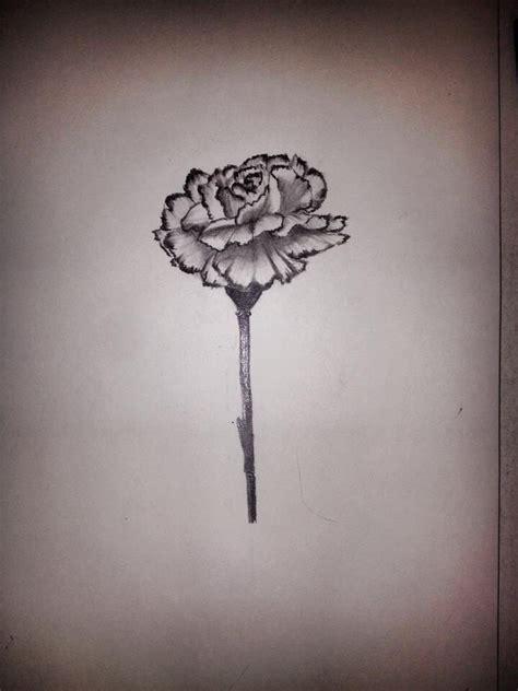 carnation flower tattoo 25 best ideas about carnation on