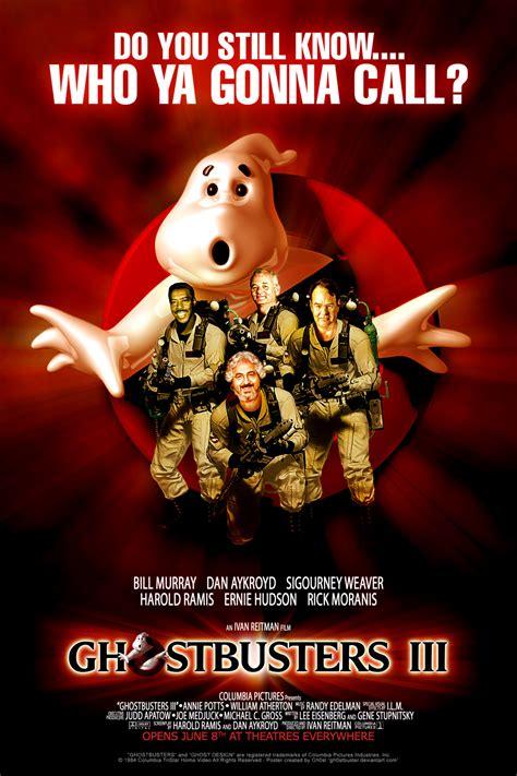 ghostbusters 3 film fan made ghostbusters 3 movie poster geektyrant