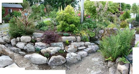 Small Garden Rockery Ideas Small Corner Rockery Garden Ideas Pinterest Gardens