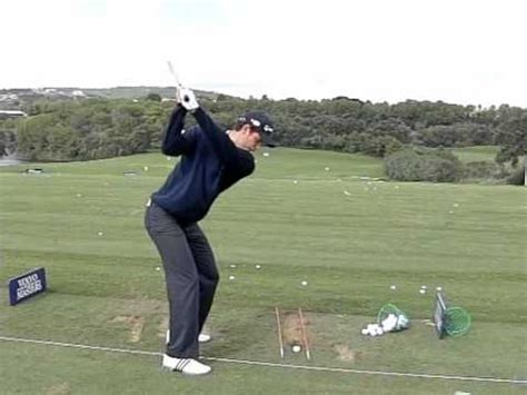 justin rose golf swing video justin rose behind slow motion 300 fps youtube