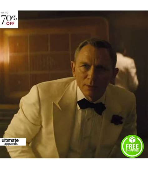 Bond 007 Daniel Craig White spectre daniel craig bond white tuxedo jacket