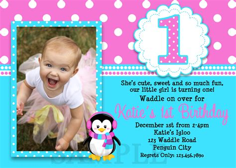1st Birthday Invitations Girl Free Template Baby Girl S 1st Birthday Invitation Cards Ideas Baby Birthday Invitation Card Template
