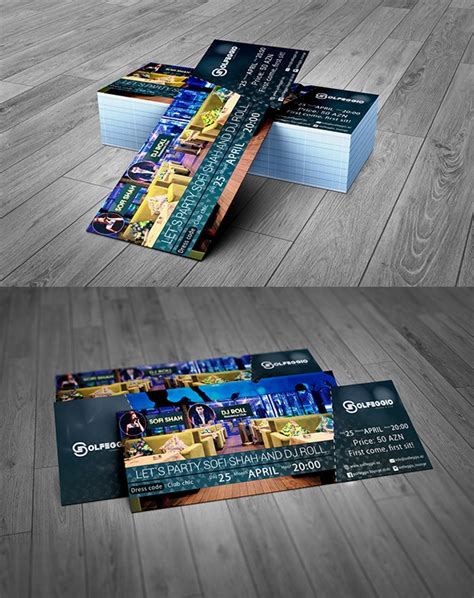 Useful Free Photoshop Psd Files For Designers Freebies Graphic Design Junction Event Ticket Template Psd Free