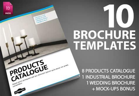 premium brochure templates 10 premium indesign brochure templates with commercial