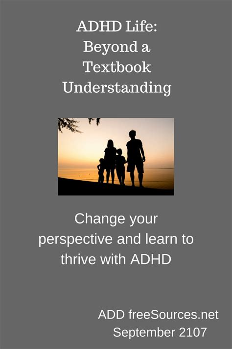 adhd the complete guide to living with understanding improving and managing adhd or add as an books adhd beyond a textbook understanding add freesources