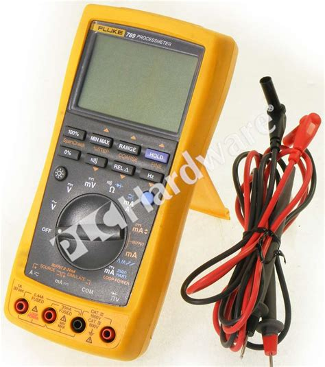 Multimeter Fluke 789 fluke 789 processmeter multimeter loop calibrator lead set