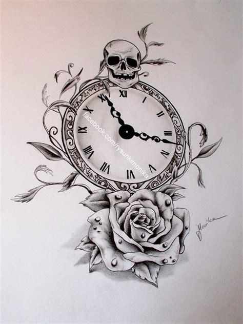 rysuję na zam 243 wienie on twitter quot tattoo design clock and