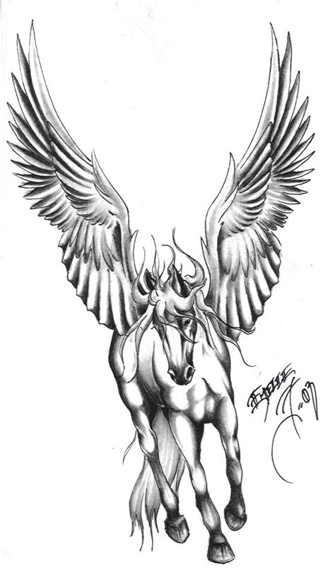 best ink tattoo designs pegasus images designs