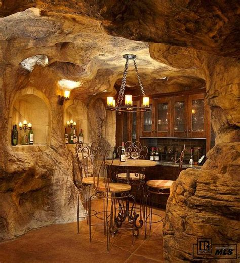 Contemporary Light Fixtures Dining Room rustic wine cellar with built in bookshelf amp chandelier in