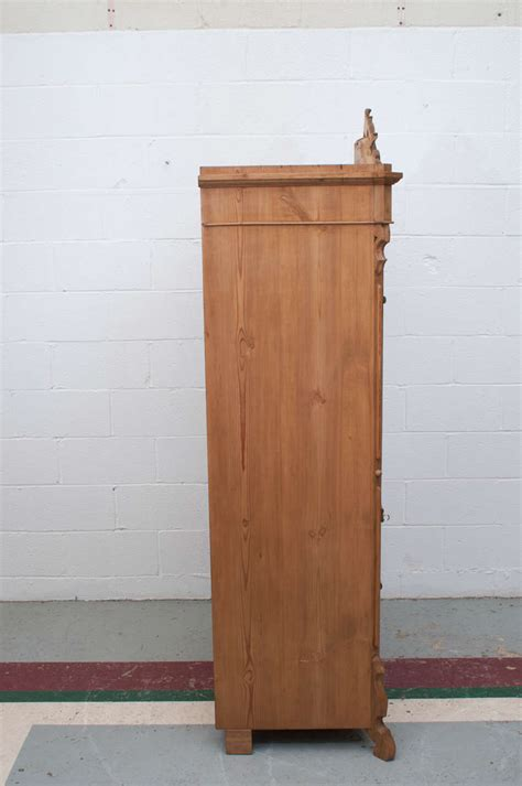 single door armoire pine single door armoire for sale at 1stdibs