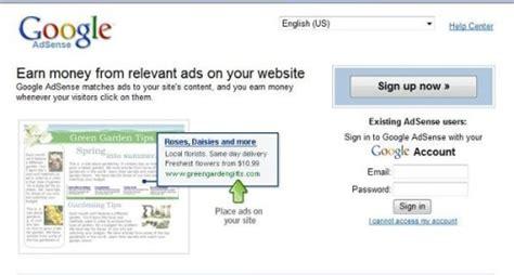 adsense login change in layout of adsense login page