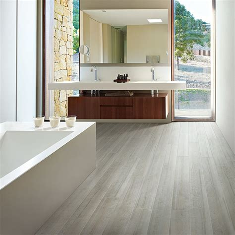 contemporary bathroom flooring mannington contemporary wood look tile flooring