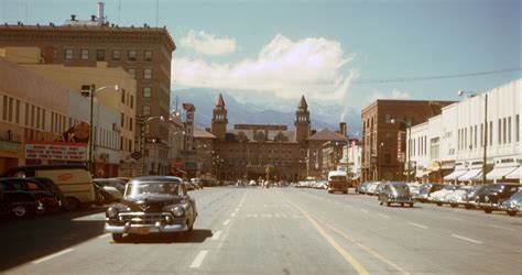 Free Warrant Search Colorado Springs File Colorado Springs Downtown 1950 S Jpg