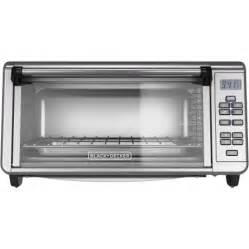 Black And Decker Toaster Oven Warranty Black Decker Extra Wide Digital Toaster Convection Oven