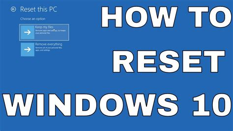windows keeps resetting default apps windows 10 restoring your computer reset this pc remove