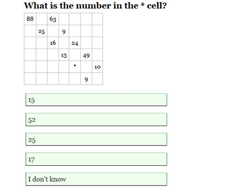 pattern iq questions with answers find the pattern what is the correct answer mathematics
