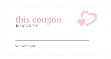 Coupon Template Business Mentor Free Printable Business Coupon Templates