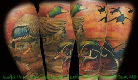 duck hunting tattoo designs gallery for gt duck designs