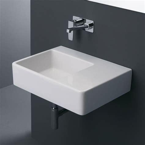 lavabo bagno sospeso lavabo sospeso simas quasar 60s lavabi in ceramica