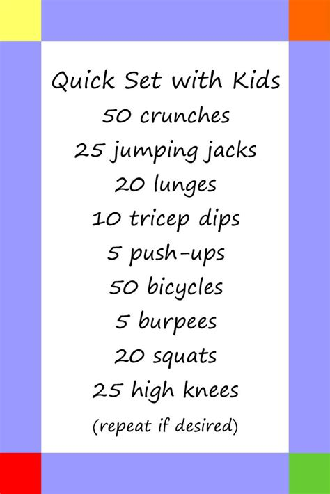 25 best ideas about workout on kid