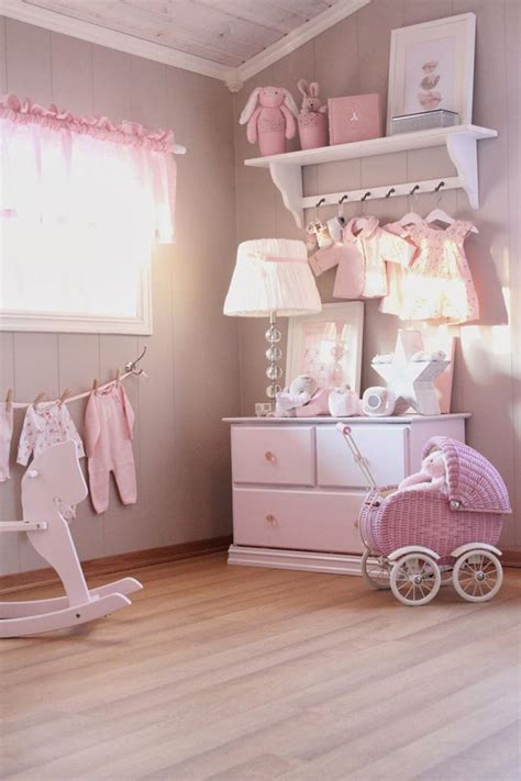 Shabby Chic Pink Nursery Ideas Pink Nursery Decor