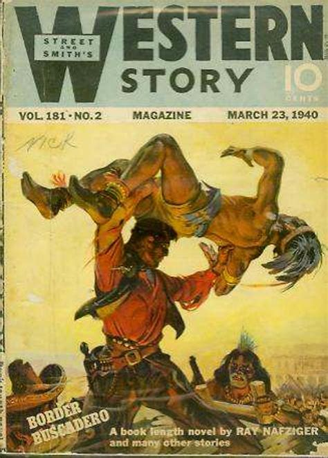 rough edges saturday morning western pulp western story march