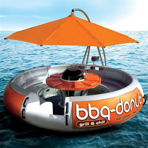 round barbecue boat bbq boat is the ridiculous hipster way to barbecue