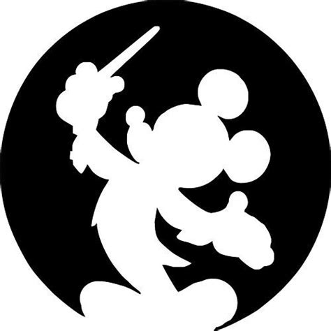 printable vinyl silhouette disney mickey mouse vinyl wall decal 25 colors