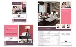 interior designer flyer amp ad template word amp publisher