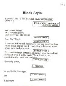 Block Style Business Letter Assignment C App Assignments Joplin Business Department