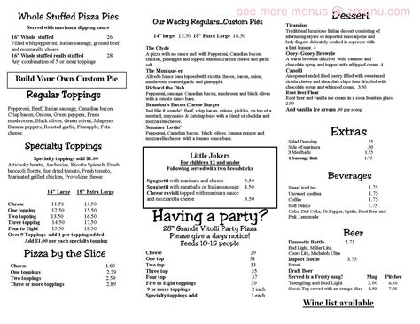 waffle house robertsdale al online menu of vitolli s pizzeria italian eatery restaurant robertsdale alabama