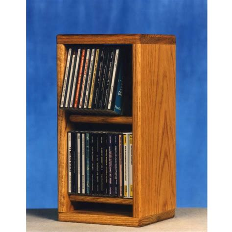 Cd Storage Rack by Wood Shed Solid Oak Cd Storage Rack Tws 206